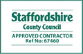 Staffordshire County Council Approved Contractor